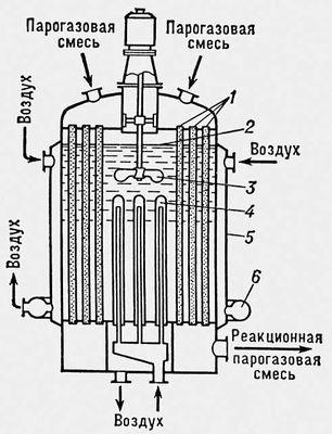 реактор и регенератор с
