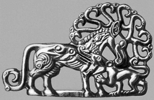 Медальон из Древней Греции