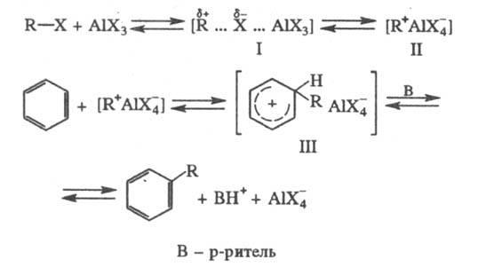 Химические реакции фриделя крафтса